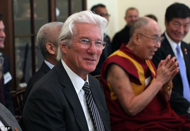 Dalai Lama et Richard Gere