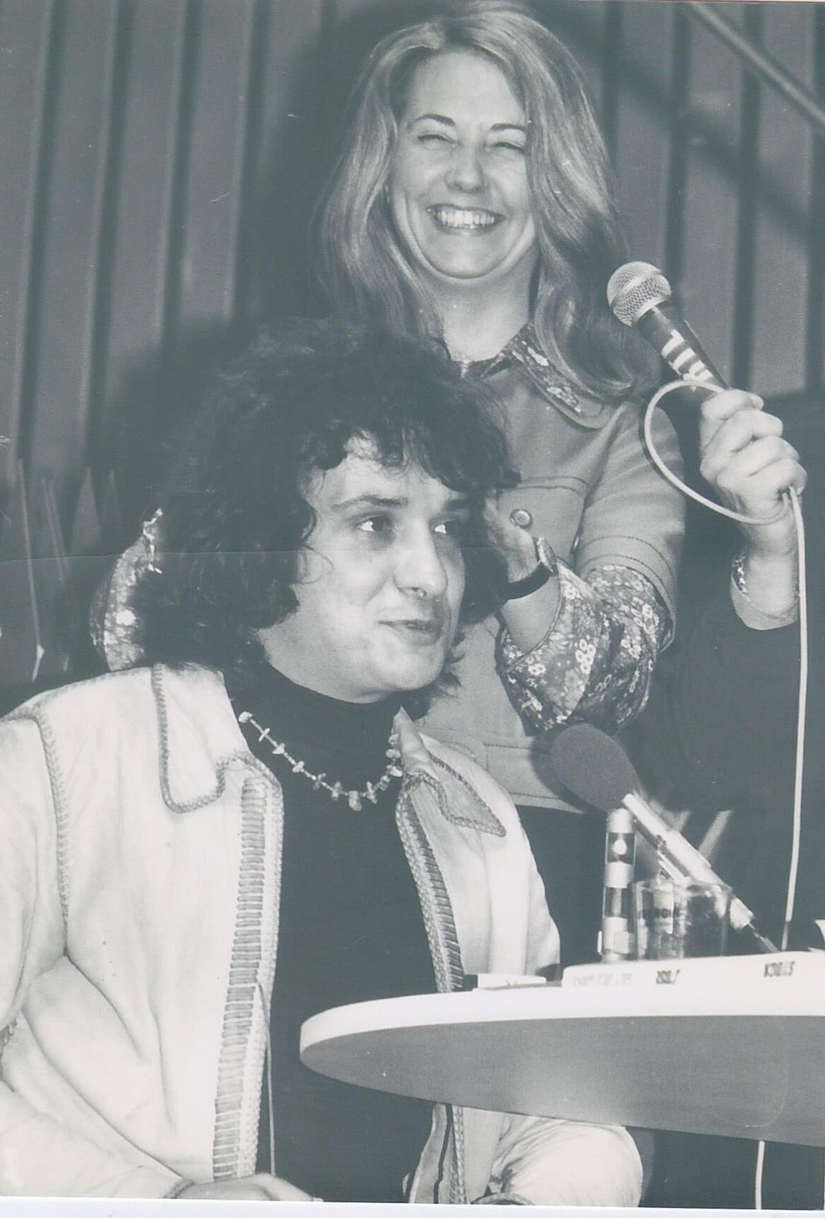 Michel Sardou & Françoise Colin