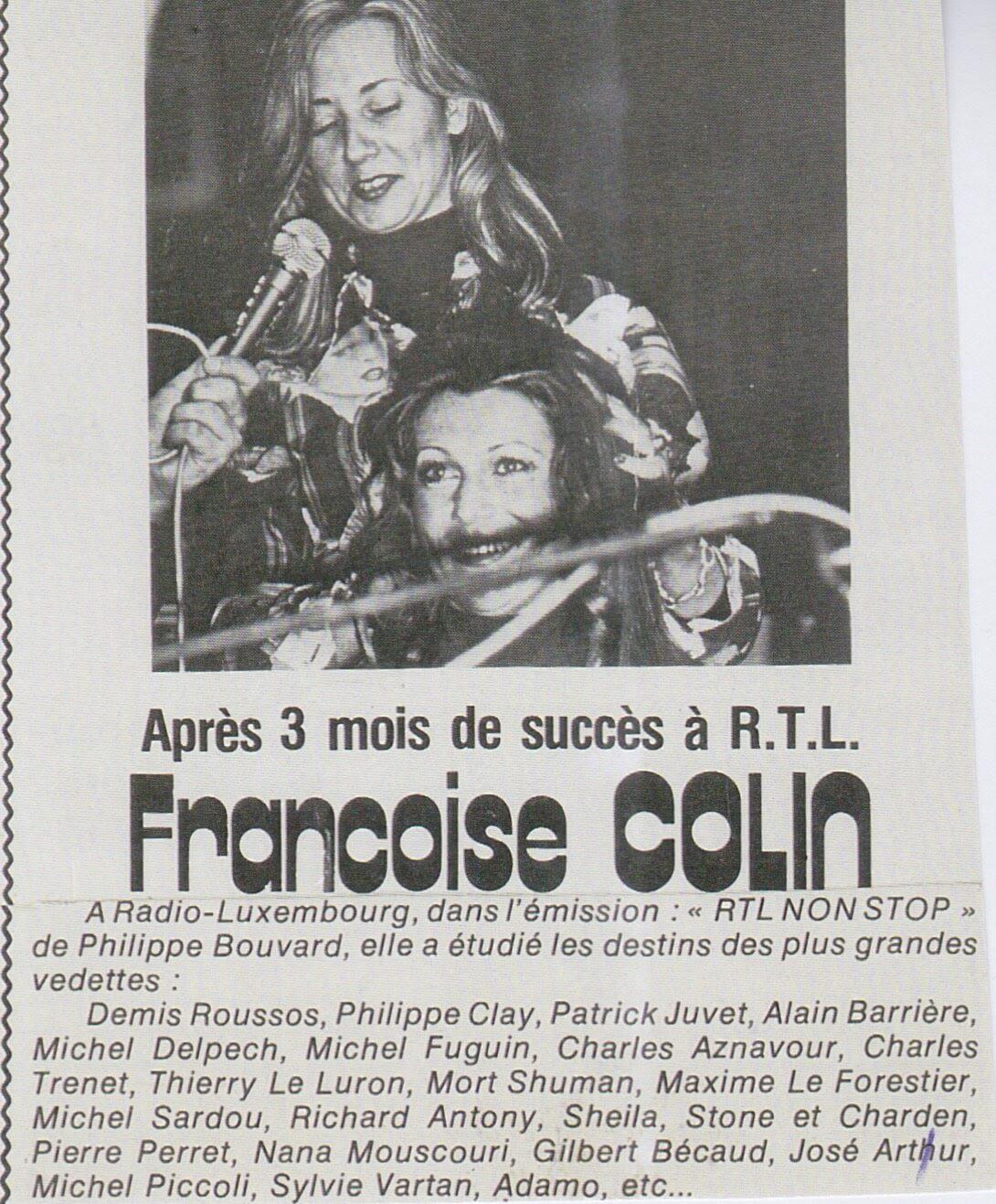 Sheila & Françoise Colin